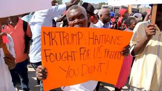 h06 haitian protest
